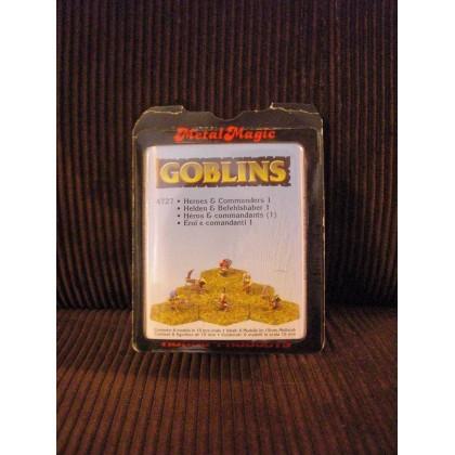 Goblins - Héros & Commandants 1 (figurines fantastiques Demonworld) 001