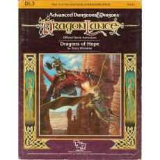 Dragonlance - DL3 Dragons of Hope (jdr AD&D 1ère édition)