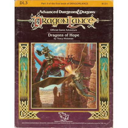 Dragonlance - DL3 Dragons of Hope 003 (AD&D 1ère édition)