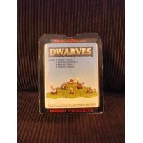 Dwarves - Prêtres nains 1 (figurines fantastiques Demonworld) 001