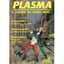 Plasma N° 1 (magazine des jeux de rôles des éditions Siroz) 001