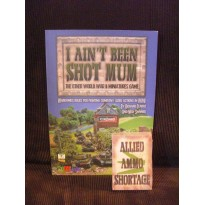 I ain't been shot Mum - Lot Règles + cartes (règle figurines WW2 en VO)