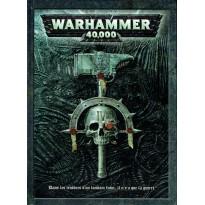 Warhammer 40,000 - Livre de règles (jeu de figurines 4ème édition en VF) 001