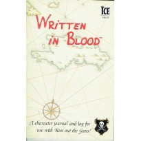Written in Blood - Character journal & log (jdr Run Out the Guns! en VO) 001