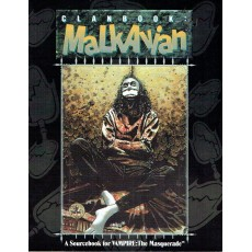 Clanbook - Malkavian (Vampire The Masquerade jdr en VO)