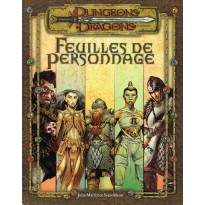 Feuilles de Personnage (jdr Dungeons & Dragons 3.0 en VF)
