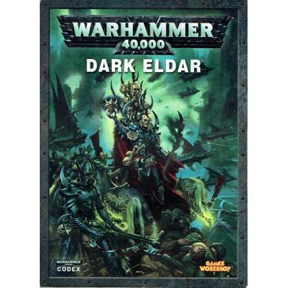 Codex Dark Eldar (Livret d'armée figurines Warhammer 40,000 6e édition en VO) 001