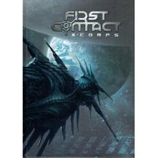 First Contact  X-Corps - Le jeu de rôle (Livre de règles jdr 7ème Cercle en VF)