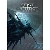 First Contact  X-Corps - Le jeu de rôle (Livre de règles jdr 7ème Cercle en VF) 001