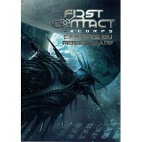 First Contact  X-Corps - Carnets du Personnage (Supplément jdr 7ème Cercle en VF) 001