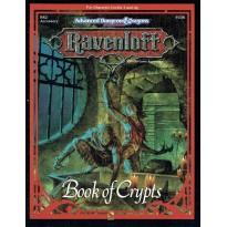 Ravenloft - Book of Crypts (jeu de rôle AD&D 2ème édition en VO) 001