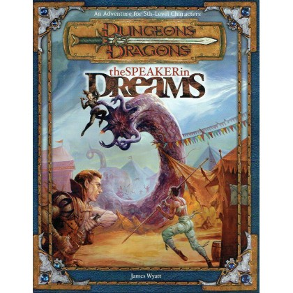 The Speaker in Dreams (jdr Dungeons & Dragons 3.0 en VO) 002