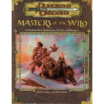 Masters of the Wild - A Guidebook to Barbarians, Druids, and Rangers (jdr D&D 3.0) 001