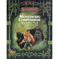 Ravenloft - Monstrous Compendium - Appendices I & II (jdr AD&D 2ème édition en VO) 001