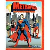 DC Universe Rpg - Metropolis Sourcebook (jeu de rôle super-héros DC en VO) 001