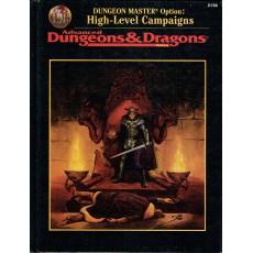High-Level Campaigns (jdr Advanced Dungeons & Dragons 2ème édition révisée en VO)