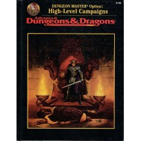 High-Level Campaigns (jdr Advanced Dungeons & Dragons 2ème édition révisée en VO) 001