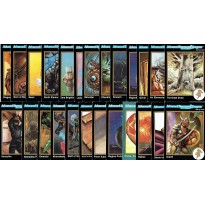AD&D 2 Trading Cards - Lot de 25 cartes (jdr en VO)