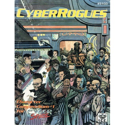 Cyber Space Character Compendium 1- CyberRogues (jdr en VO) 001