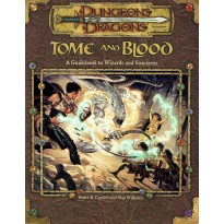 Tome and Blood (jdr Dungeons & Dragons 3.0 en VO) 002