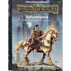 Forgotten Realms - Adventures (jdr AD&D 2nd edition en VO)