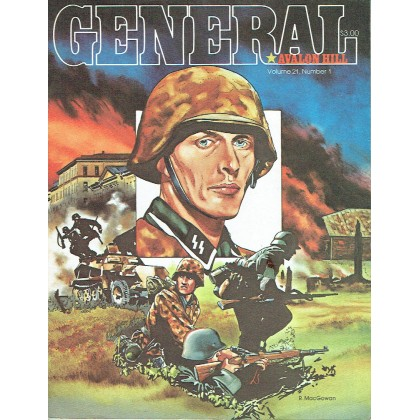 General - Volume 21, Number 1 (magazine jeux de stratégie Avalon Hill en VO) 001