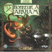 Horreur à Arkham - Jeu de plateau L'Appel de Cthulhu (jeu de stratégie Edge en VF) 001