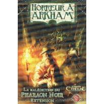 Horreur à Arkham - Extension La Malédiction du Pharaon Noir (jeu de plateau Edge en VF) 001