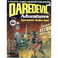 Daredevil Adventures - Supernatural Thrillers Issue (Daredevil Rpg en VO) 001