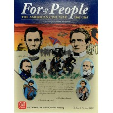 For the People - The American Civil War 1861-1865 (Card Driven wargame GMT en VO)