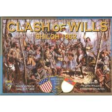 Clash of Wills - Shiloh 1862 (wargame American Civil War de Mayfair Games en VO)