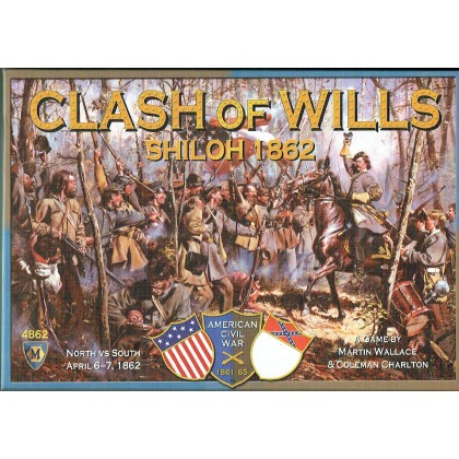 Clash of Wills - Shiloh 1862 (wargame American Civil War de Mayfair Games en VO) 001