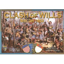 Clash of Wills - Shiloh 1862 (wargame American Civil War de Mayfair Games en VO)