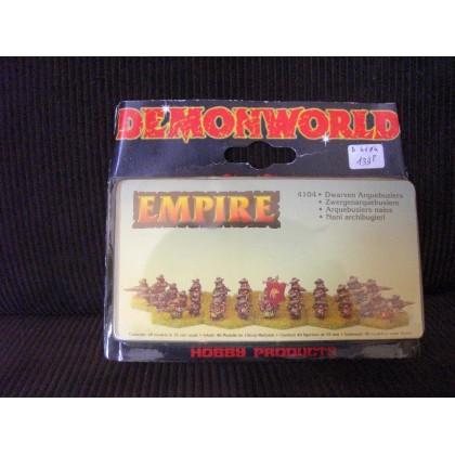 Empire - Arquebusiers Nains (figurines fantastiques Demonworld) 001