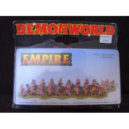 Empire - Berserkers (figurines fantastiques Demonworld) 001