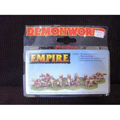 Empire - Chasseurs de mammouths (figurines fantastiques Demonworld) 001