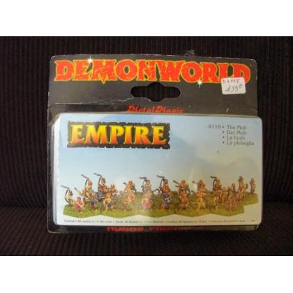 Empire - La Foule (figurines fantastiques Demonworld) 001