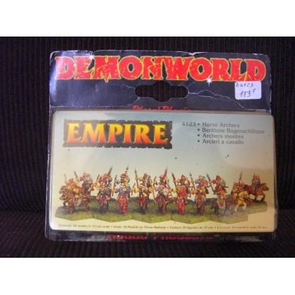 Empire - Archers montés (figurines fantastiques Demonworld) 001