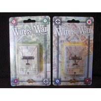 Wings of War - Lot Dogfight & Recon Patrol (extension cartes WW1 en VF) L042