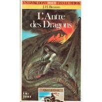 314 - L'Antre des Dragons (Un livre dont vous êtes le Héros - Gallimard) 001