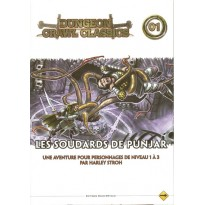 Dungeon Crawl Classics 01 - Les Soudards de Punjar (jdr D&D 4) 005