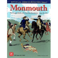 Monmouth 1778 - Battles for the American Revolution V (wargame GMT) 001