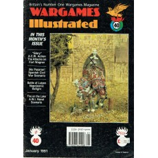 Wargames Illustrated N° 40 (The World's Foremost Wargames Magazine)