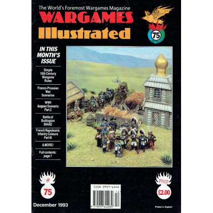Wargames Illustrated N° 75 (The World's Foremost Wargames Magazine) 001