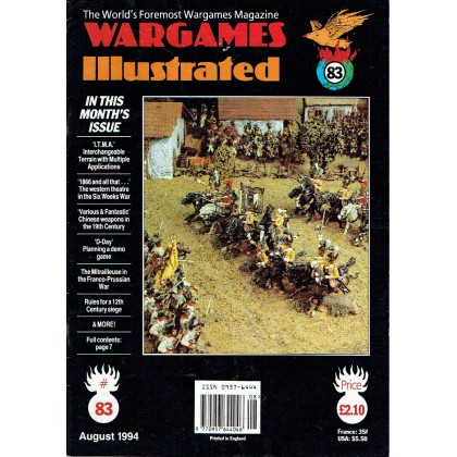 Wargames Illustrated N° 83 (The World's Foremost Wargames Magazine) 001