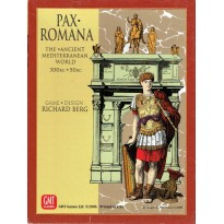 Pax Romana - The Ancient Mediterranean World 300 BC-50 BC (wargame GMT) 001