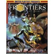 Gaming Frontiers - Volume 4 (magazine de jdr d20 System en VO) 001