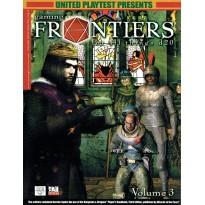 Gaming Frontiers - Volume 3 (magazine de jdr d20 System en VO) 001