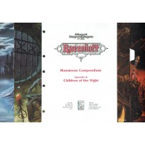 Ravenloft - Monstrous Compendium  Appendix II - Children of the Night (jdr AD&D 2 en VO)