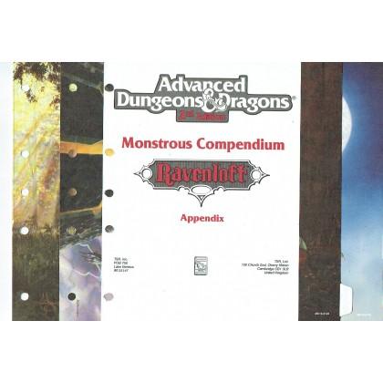 Ravenloft - Monstrous Compendium  Appendix (jdr AD&D 2) 001